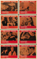 "Movie Posters:Hitchcock, Vertigo (Paramount, 1958). Lobby Card Set of 8 (11"" X 14""). ...(Total: 8 Items)"