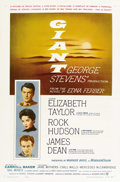 "Movie Posters:Drama, Giant (Warner Brothers, 1956). One Sheet (27"" X 41""). ..."