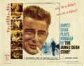 "Movie Posters:Documentary, The James Dean Story (Warner Brothers, 1957). Half Sheet (22"" X 28""). ..."