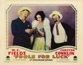 "Movie Posters:Comedy, Fools For Luck (Paramount, 1928). Lobby Card (11"" X 14""). ..."