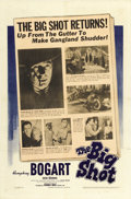 "Movie Posters:Crime, The Big Shot (Warner Brothers, 1942). One Sheet (27"" X 41""). ..."