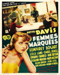 "Movie Posters:Crime, Marked Woman (Warner Brothers, 1937). Pre-War Belgian (24"" X 30"")...."