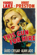 "Movie Posters:Film Noir, This Gun for Hire (Paramount, 1942). One Sheet (27"" X 41""). ..."