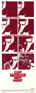 """Movie Posters:Crime, Dirty Harry (Warner Brothers, 1971). Insert (14"""" X 36""""). ..."""
