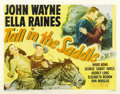 "Movie Posters:Western, Tall in the Saddle (RKO, 1944). Half Sheet (22"" X 28""). ..."