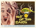 "Movie Posters:Science Fiction, Not of this Earth (Allied Artists, 1957). Half Sheet (22"" X 28"")...."
