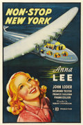 "Movie Posters:Mystery, Non-Stop New York (Gaumont British, 1937). One Sheet (27"" X 41"")...."