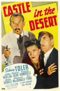 "Movie Posters:Mystery, Castle in the Desert (20th Century Fox, 1942). One Sheet (27"" X41""). ..."