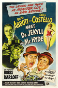 "Movie Posters:Comedy, Abbott and Costello Meet Dr. Jekyll and Mr. Hyde (UniversalInternational, 1953). One Sheet (27"" X 41""). ..."