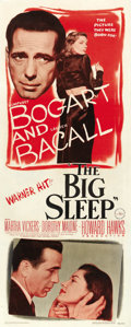 "Movie Posters:Film Noir, The Big Sleep (Warner Brothers, 1946). Insert (14"" X 36""). ..."