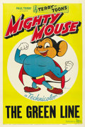"Movie Posters:Animated, Mighty Mouse (20th Century Fox, 1943). Stock One Sheet (27"" X 41"")...."