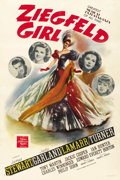 "Movie Posters:Musical, Ziegfeld Girl (MGM, 1941). One Sheet (27"" X 41"") Style D. ..."