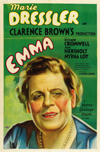 "Emma (MGM, 1932). One Sheet (27"" X 41"")"