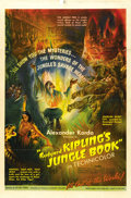 "Movie Posters:Adventure, Jungle Book (United Artists, 1942). One Sheet (27"" X 41""). ..."