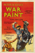 "Movie Posters:Western, War Paint (MGM, 1926). One Sheet (26.5"" X 40"")...."