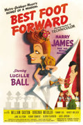 """Movie Posters:Musical, Best Foot Forward (MGM, 1943). One Sheet (27"""" X 41"""") Style C. ..."""
