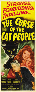 """Movie Posters:Horror, The Curse of the Cat People (RKO, 1944). Insert (14"""" X 36""""). ..."""