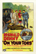 "Movie Posters:Comedy, On Your Toes (Universal, 1927). One Sheet (27"" X 41""). ..."