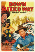 "Movie Posters:Western, Down Mexico Way (Republic, 1941). One Sheet (27"" X 41""). ..."