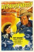 """Movie Posters:Western, Red River Valley (Republic, 1941). One Sheet (27"""" X 41""""). ..."""