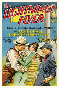 "The Lightning Flyer (Columbia, 1931). One Sheet (27.5"" X 41"")"