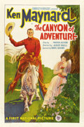 """Movie Posters:Western, Canyon of Adventure (First National, 1928). One Sheet (27"""" X 41"""")...."""