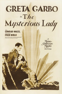 "The Mysterious Lady (MGM, 1928). One Sheet (27"" X 41"") Rotogravure Style"