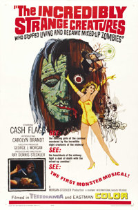 The Incredibly Strange Creatures Who Stopped Living and Became Mixed-Up Zombies!!? (Fairway International, 1967). One Sh...