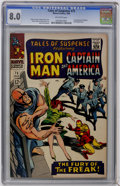 Silver Age (1956-1969):Superhero, Tales of Suspense #75 (Marvel, 1966) CGC VF 8.0 Off-white pages....