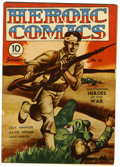 Golden Age (1938-1955):War, Heroic Comics #16 File Copy (Eastern Color, 1943) Condition:FN/VF....