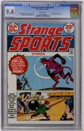 Bronze Age (1970-1979):Miscellaneous, Strange Sports Stories #1 (DC, 1973) CGC NM 9.4 White pages....