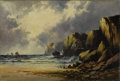 Fine Art - Painting, European:Antique  (Pre 1900), Attributed to WILLIAM EDWARD WEBB (British 1860-1903). Seascape. Oil on canvas. 16 x 24 inches (40.6 x 61.0 cm). Signed ...