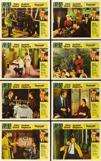 """Charade (Universal, 1963). Lobby Card Set of 8 (11"""" X 14""""). ... (Total: 8 Items)"""