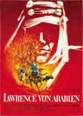 "Movie Posters:Academy Award Winner, Lawrence of Arabia (Columbia, 1962). German A1 (23.5"" X 33""). ..."