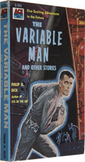 Books:Signed Editions, Philip K. Dick Signed: The Variable Man...