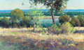 Fine Art - Painting, Russian, TONY SALADINO (American, 20th Century). Landscape. Oil oncanvas. 24 x 40 inches (61.0 x 101.6 cm). Signed lower left: ...