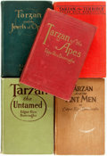 Books:Science Fiction & Fantasy, Edgar Rice Burroughs. Group of Five First Edition TarzanBooks. Chicago: A. C. McClurg, 1914-1924. ... (Total: 5 Items)