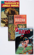 Silver Age (1956-1969):Adventure, Tarzan-Related Box Lot (Various Publishers, 1950s-70s) Condition: Average VG+....