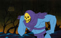 Animation Art:Production Cel, He-Man and the Masters of the Universe Skeletor ProductionCel (Filmation, 1983)....