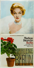 Books:Music & Sheet Music, [Vinyl Records - 33 1/3]. [Cabaret]. Marlene Dietrich. MarleneDietrich's Berlin. Los Angeles: Capitol Records, [196...(Total: 2 Items)