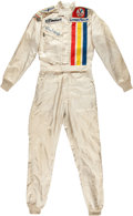 Miscellaneous Collectibles:General, 1976 Steve Krisiloff Race Worn Fire Suit....