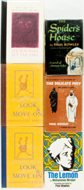 Books:Literature 1900-up, Paul Bowles and Mohammed Mrabet. SIGNED. Group of Six Books.Includes three Black Sparrow Press titles, two of which are s...(Total: 6 Items)