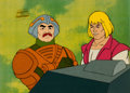 Animation Art:Production Cel, He-Man and the Masters of the Universe He-Man andMan-at-Arms Production Cel Setup (Filmation, 1983). ... (Total: 2Items)