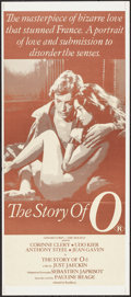 """Movie Posters:Adult, The Story of O (Roadshow, 1975). Australian Daybill (13"""" X 29.75""""). Adult.. ..."""