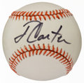 Miscellaneous Collectibles:General, Jimmy Carter Single Signed Baseball....