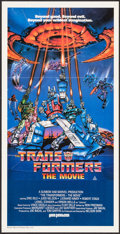 """Movie Posters:Animation, Transformers: The Movie (Hoyts, 1986). Australian Daybill (13"""" X 26""""). Animation.. ..."""