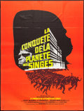 "Movie Posters:Science Fiction, Conquest of the Planet of the Apes (20th Century Fox, 1972). FrenchGrande (46"" X 61""). Science Fiction.. ..."