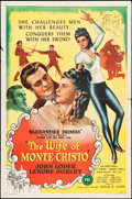 "Movie Posters:Adventure, The Wife of Monte Cristo (PRC, 1946). One Sheet (27"" X 41"").Adventure.. ..."