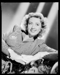 "Joan Blondell in Christmas Eve (United Artists, 1947). Kodak Safety Negative (8"" X 10""). Miscellaneous"