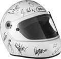 Miscellaneous Collectibles:General, 2001 Indianapolis 500 Drivers Multi-Signed Helmet....